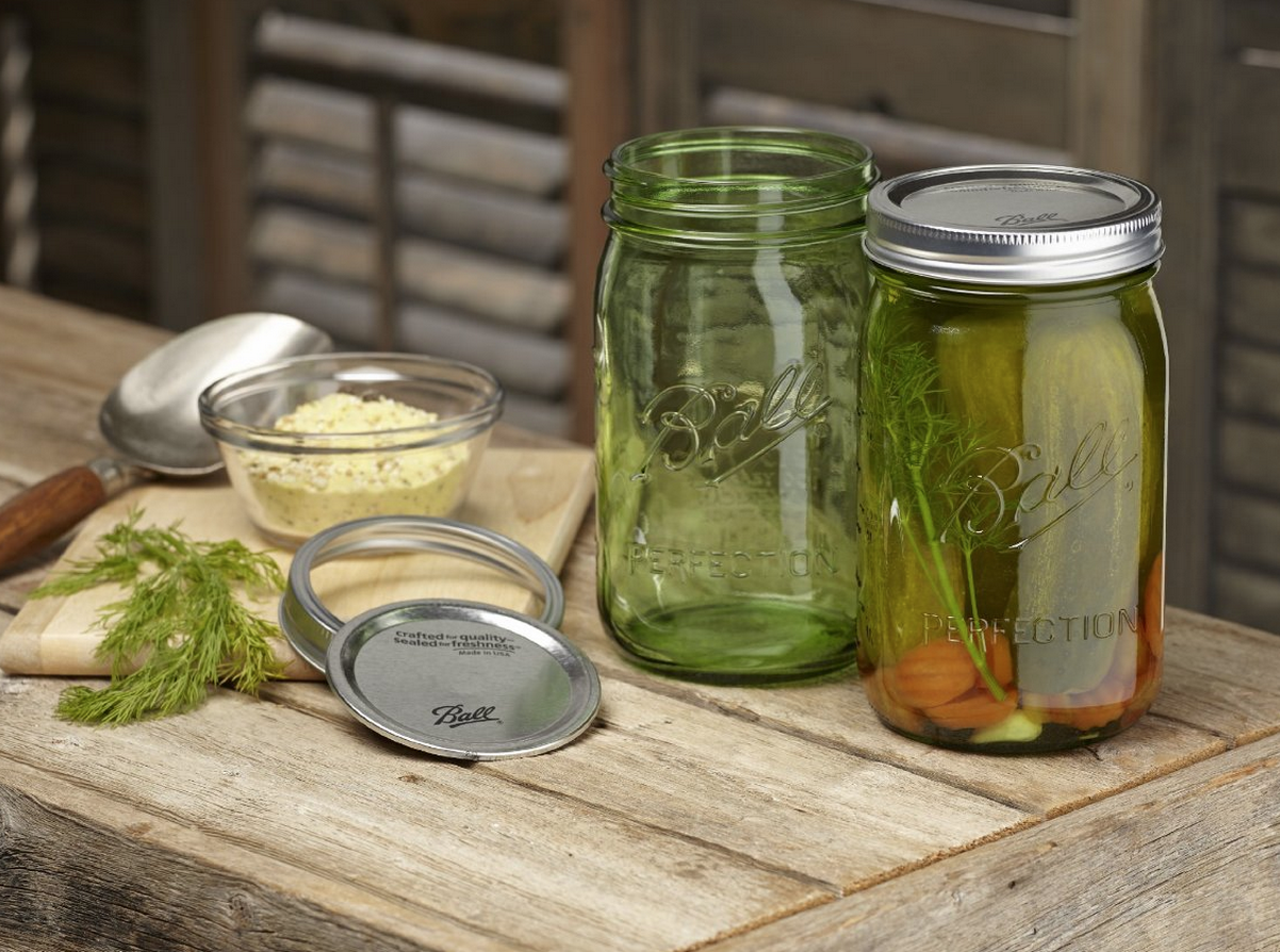 Six Ball Heritage Collection Quart Jars with Lids and Bands Only $10 (Reg. $17.94!)