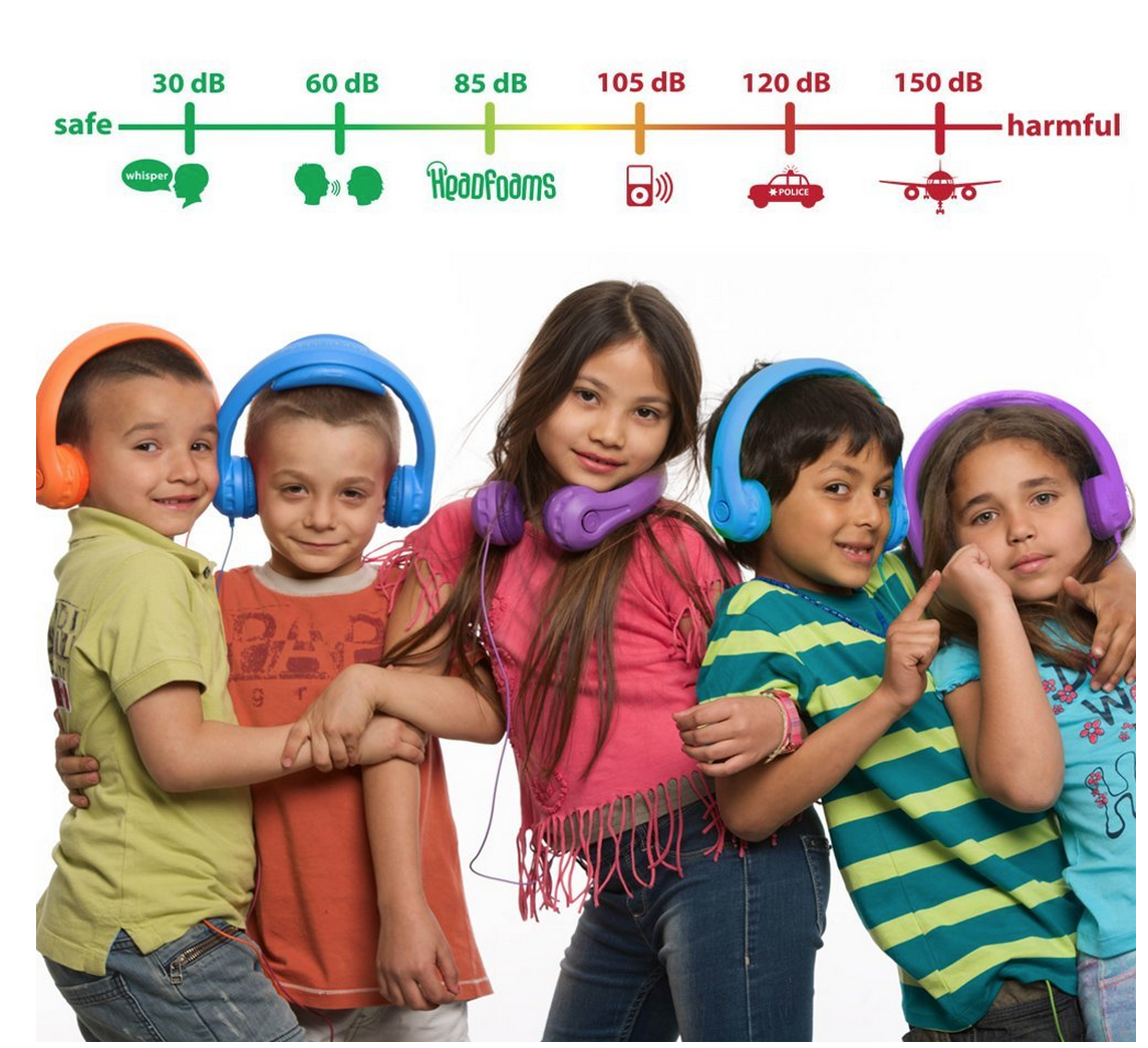 TODAY ONLY! HeadFoams Headphones for Kids Only $19 (Reg. $29.99!)