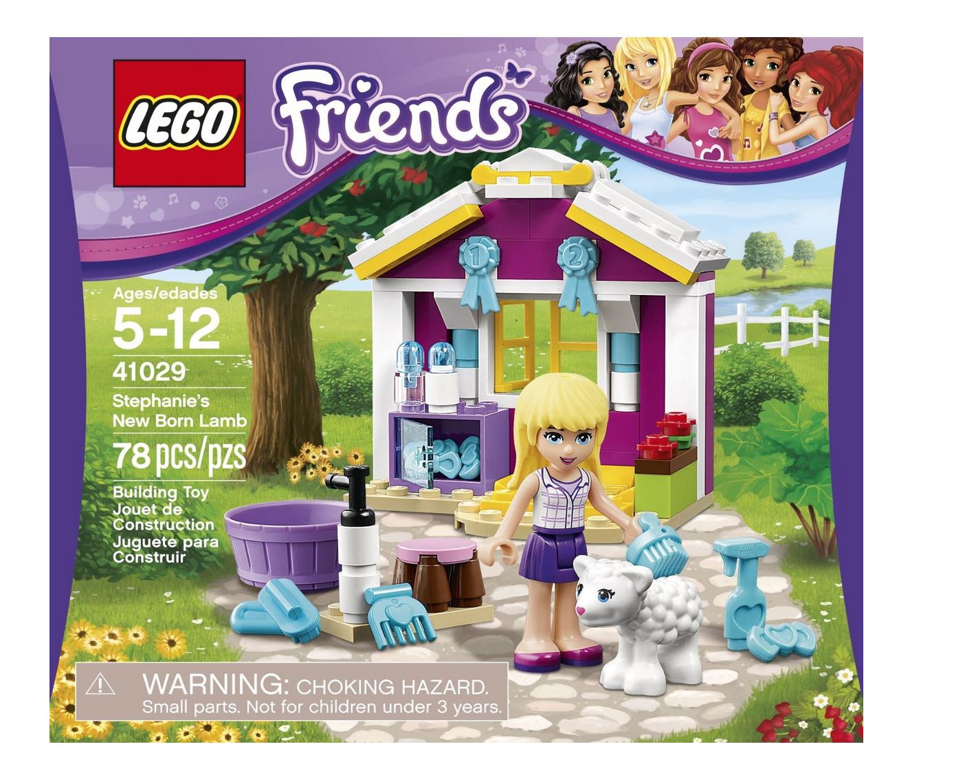 LEGO Friends Stephanie's New Born Lamb Only $7.98 (Reg. $11.99!)