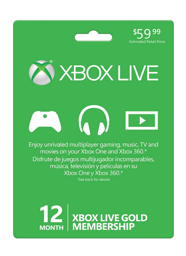 Xbox Live 12 Month Gold Membership Only $39.99 (Reg. $59.99!)