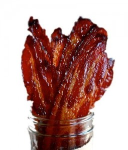 Candied Bacon. Photo via Kitchen Heals Soul.