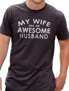 Awesome hubby shirt