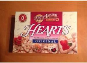 Heart crackers