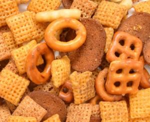 Score FREE chex mix today! Yum! Via Shutterstock.