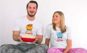 Couple's t-shirts