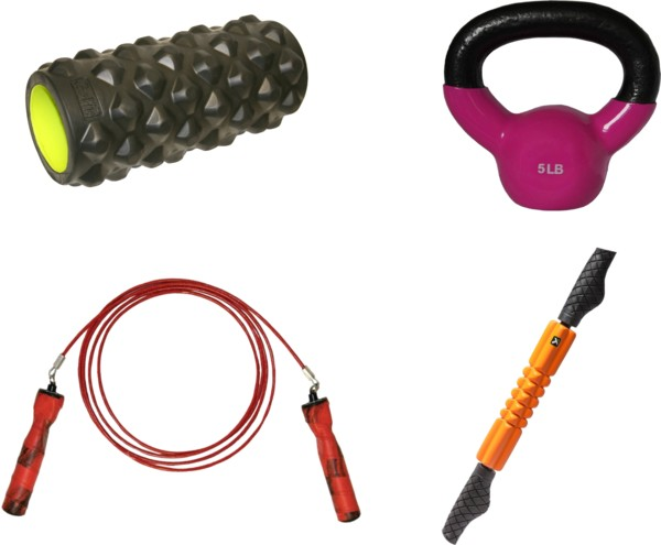 HOT! 50% Off Functional Fitness Workout Essentials (Big Deals on Jump Ropes, Medicine Balls, and More!)