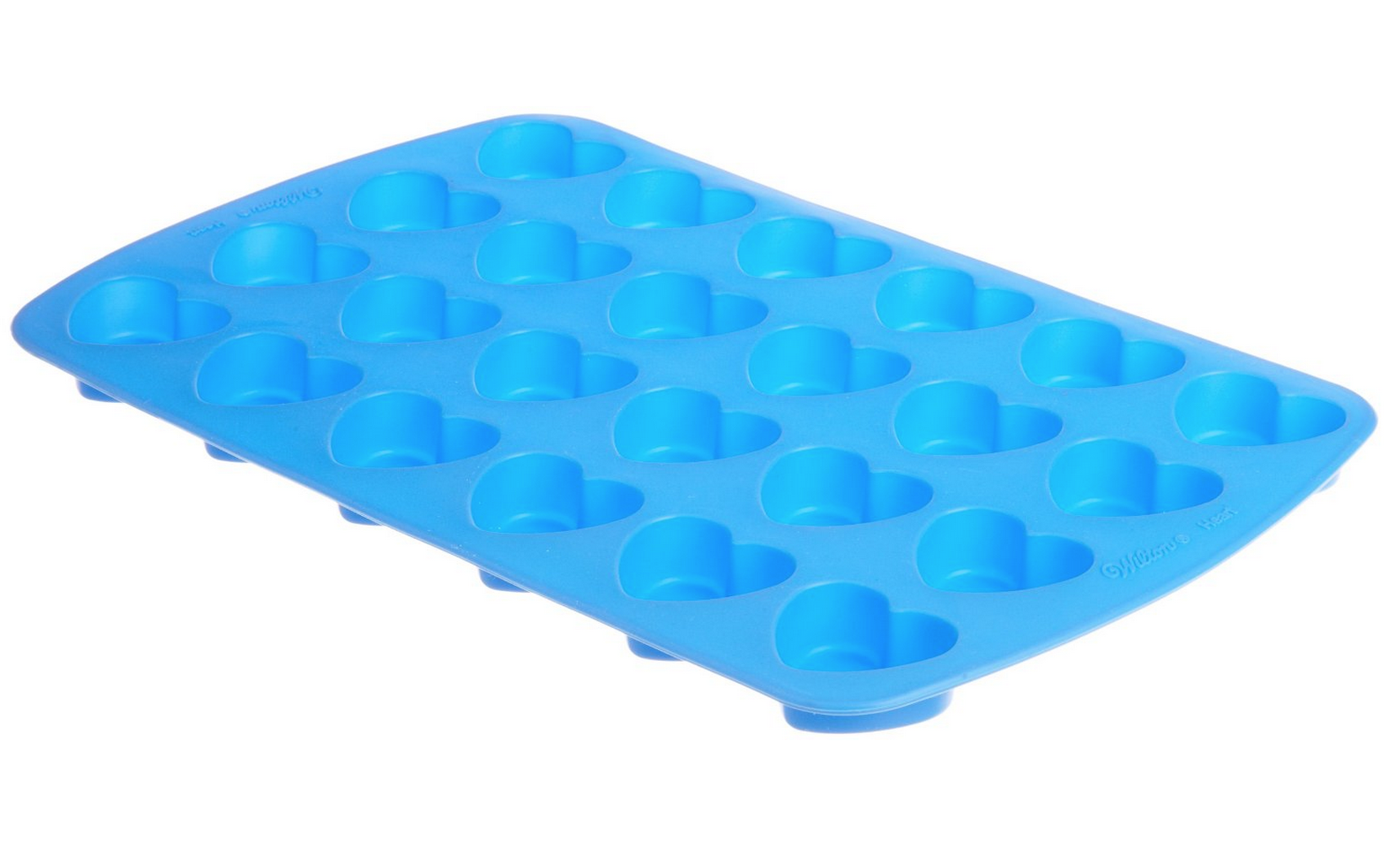 Wilton Easy Flex Heart Silicone Mold (24 Cavity) Only $8.48!