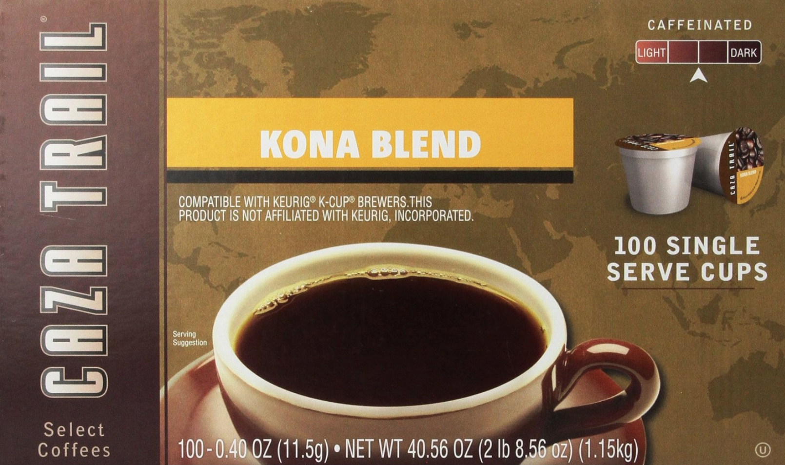 Caza Trail Kona Blend K-Cups Only 33¢ Each Shipped!