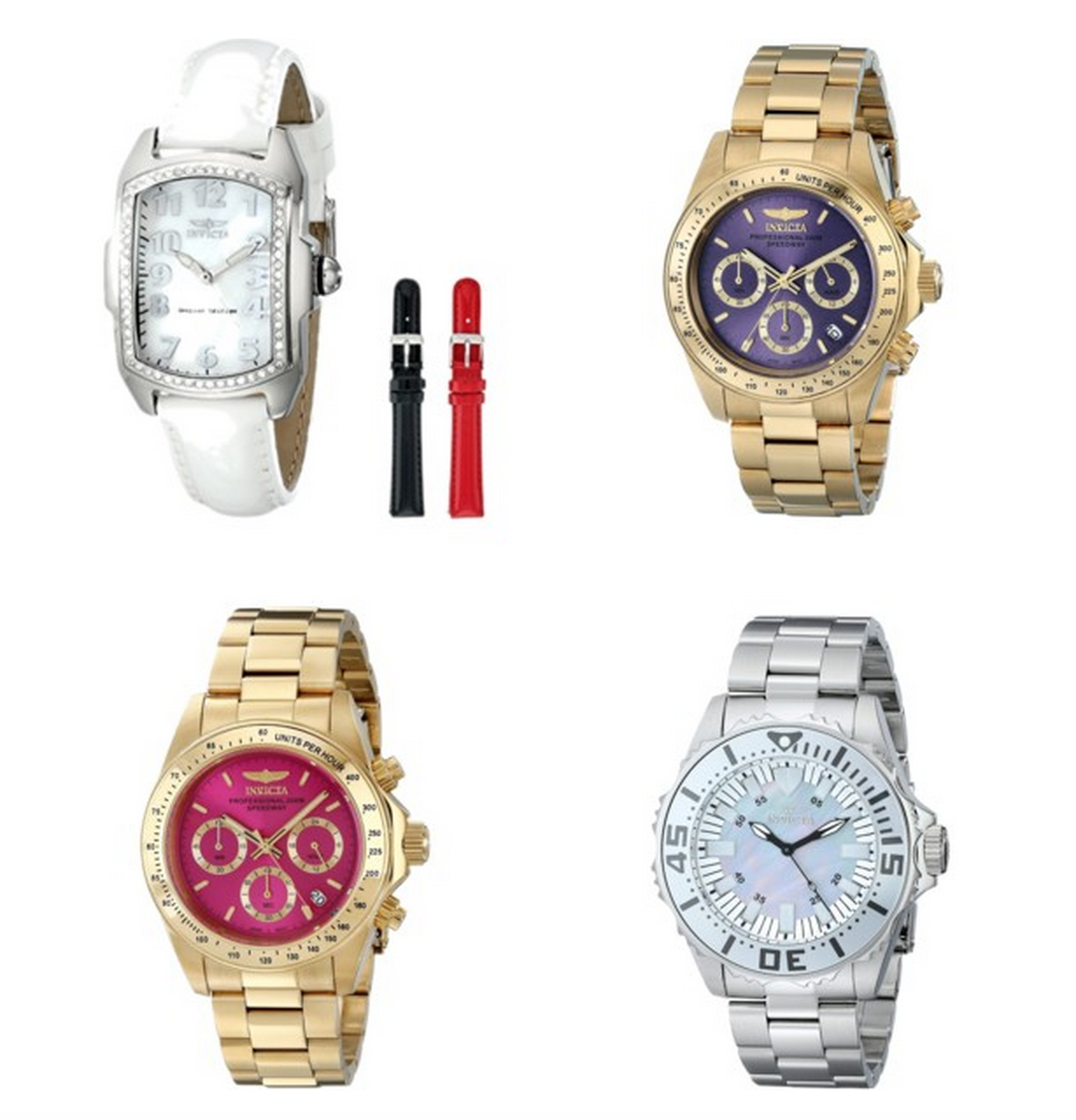 HOT! Invicta Watches Starting At Just $54.99 + FREE One Day Shipping!