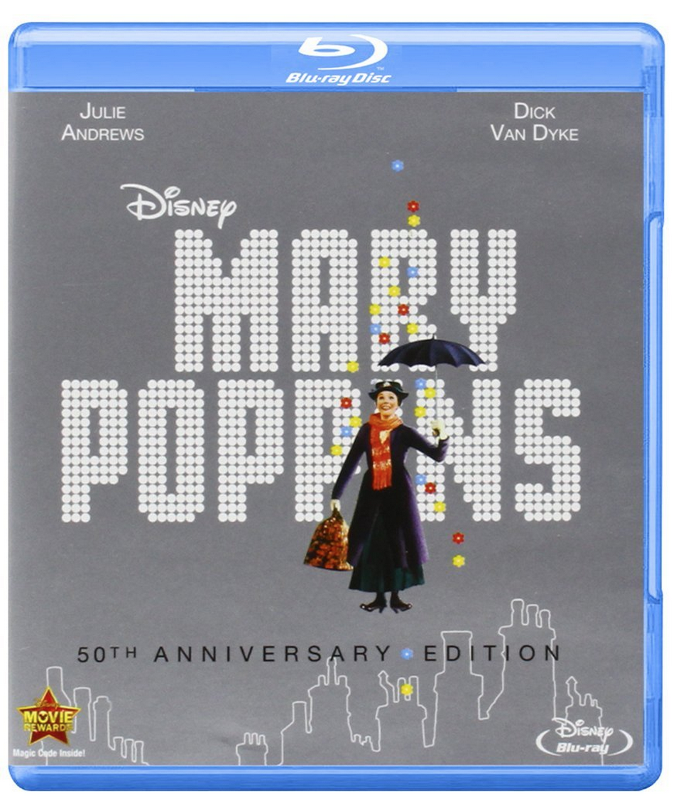 Mary Poppins: 50th Anniversary Edition Blu-Ray Only $19.99 (Reg. $26.50!)