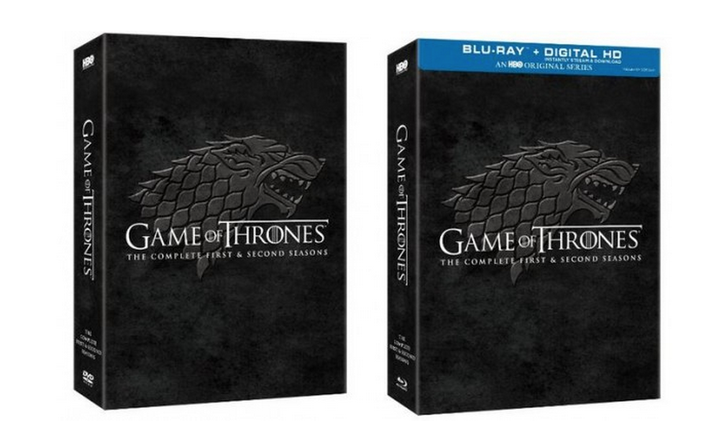 HOT! Save 60% on Game of Thrones – The Complete Seasons 1 and 2 Starting at $47.99 + FREE Shipping!
