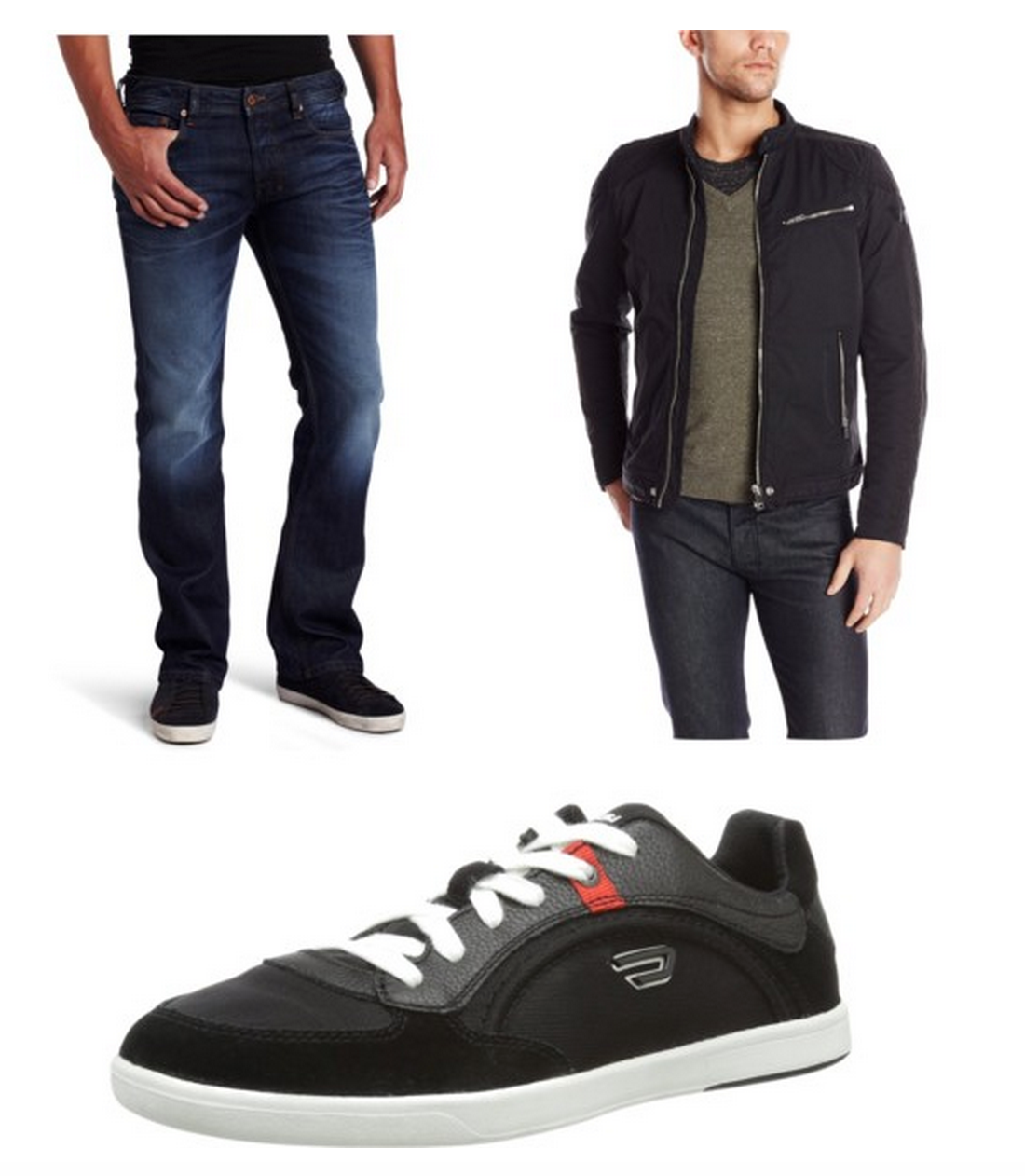 50% Off Diesel Menswear – Jeans, Polos, Jackets, Sneakers, and more!