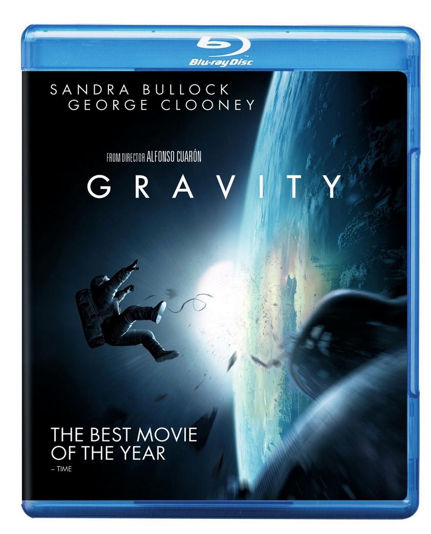 Gravity Blu-ray Only $4.99 (Reg. $24.98!)
