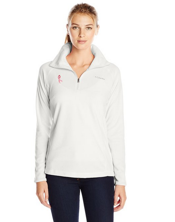 Columbia Women's Tested Tough In Pink Fleece Half Zip Only $12.92 (Reg. $45!) – Lowest Price!