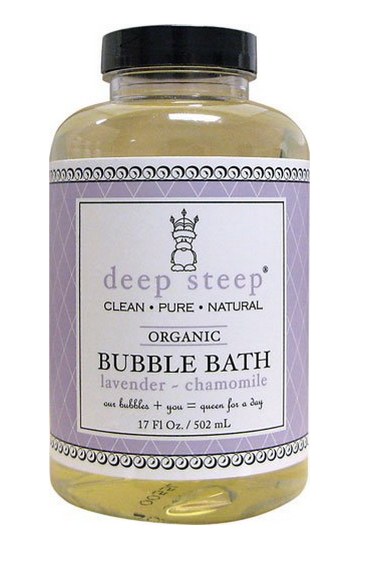 Highly Rated Deep Steep Lavender Chamomile Bubble Bath Only $10.77!