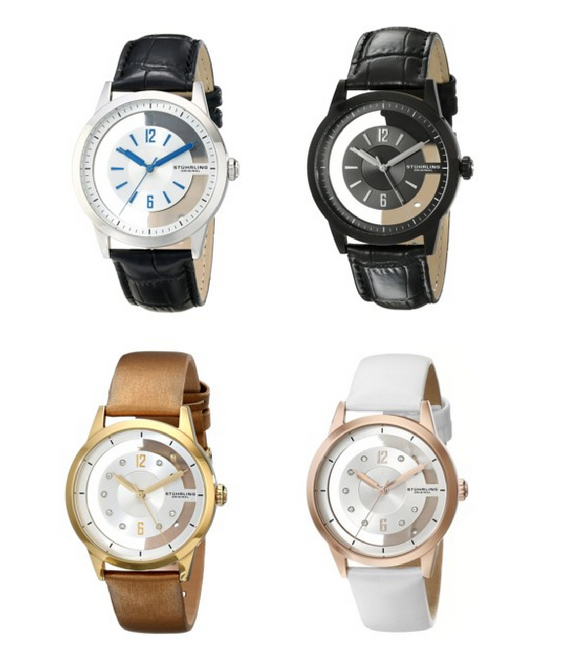 $54.99 Stuhrling Watches for Women and Men (Reg. Up To $345!)