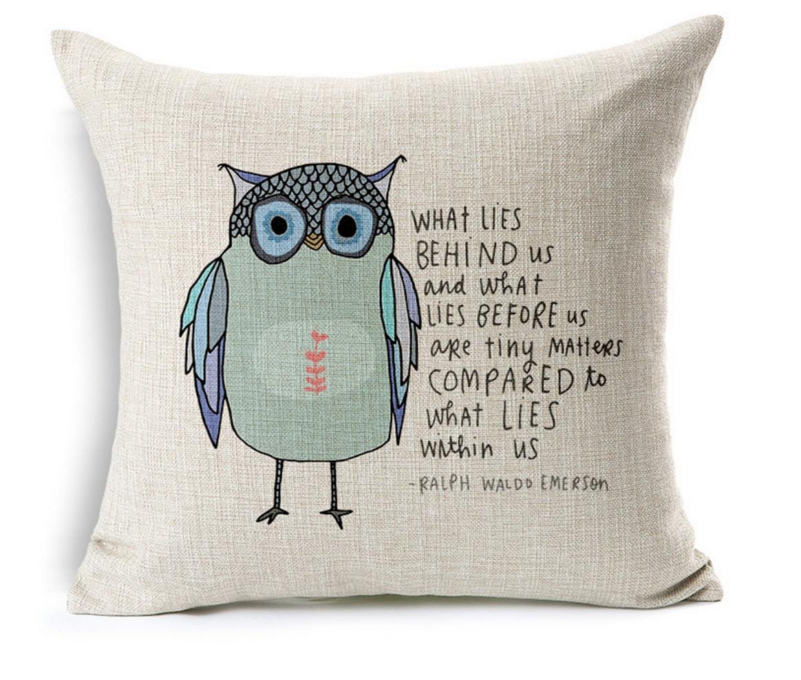 Decorative Throw Pillow Case Only $6.95 (Reg. $39!)
