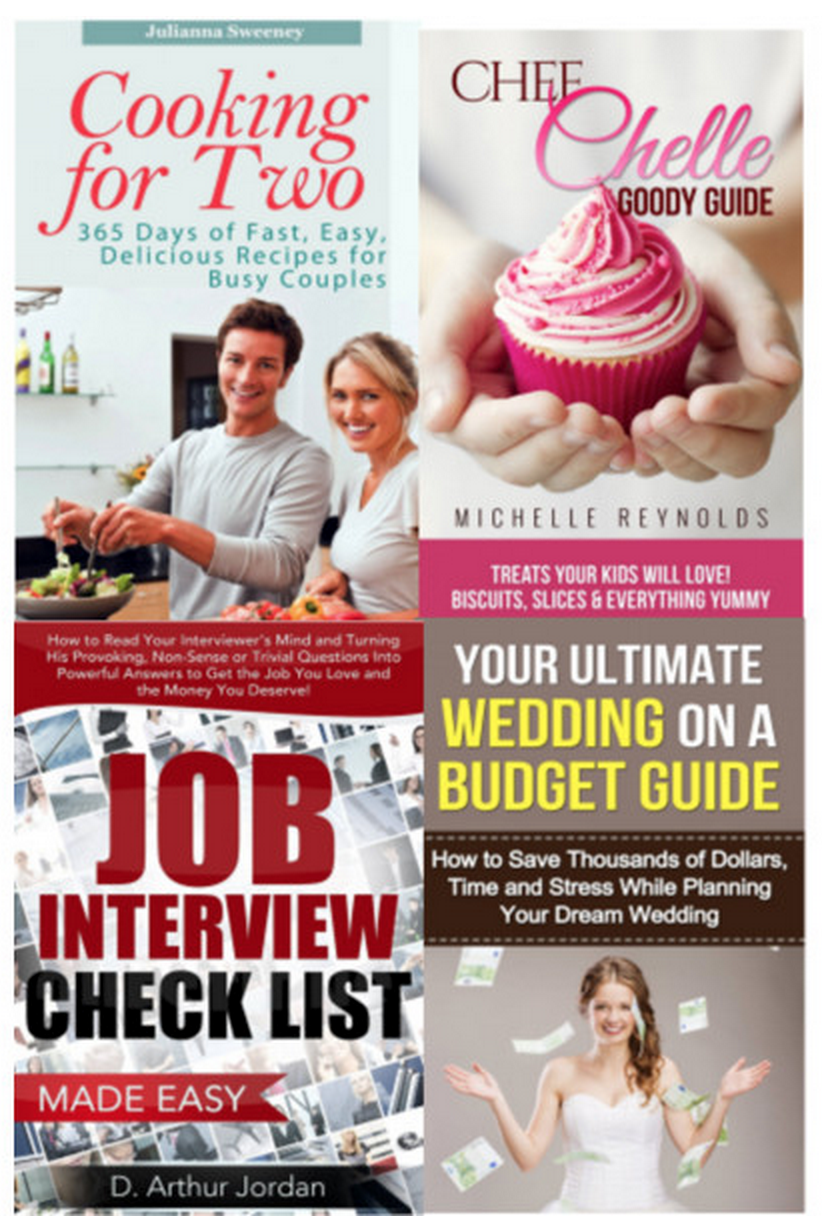 13 Free eBooks – Cooking for Two, Job Interview Checklist and More!