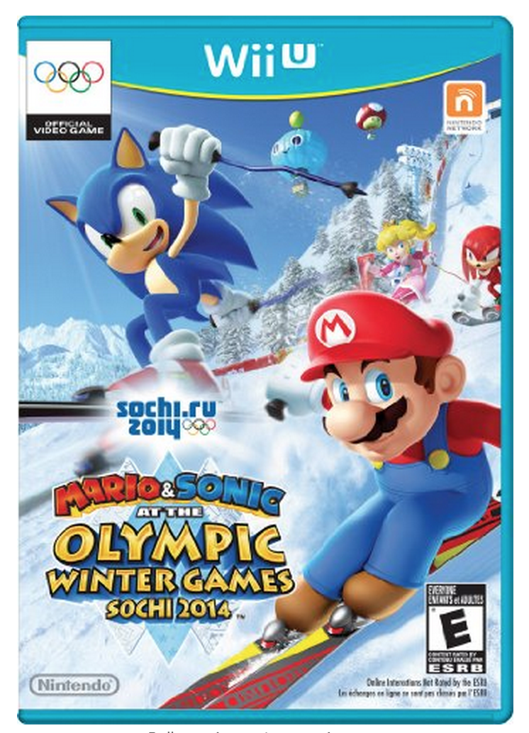 Mario & Sonic at the Sochi 2014 Olympic Winter Games – Nintendo Wii U Only $20.99 (Reg $49.99!)