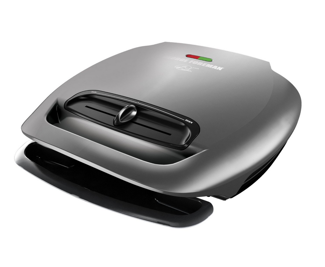 George Foreman 5-Serving Classic Plate Grill  Only $38.32 (Reg. $59.99!)