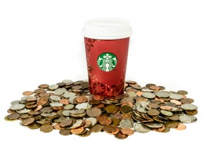 Is your Starbuck's habit costing you a fortune? via Shutterstock