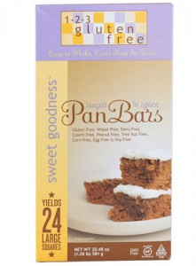 Gluten-free pan bar mix