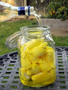 Peeps-infused vodka