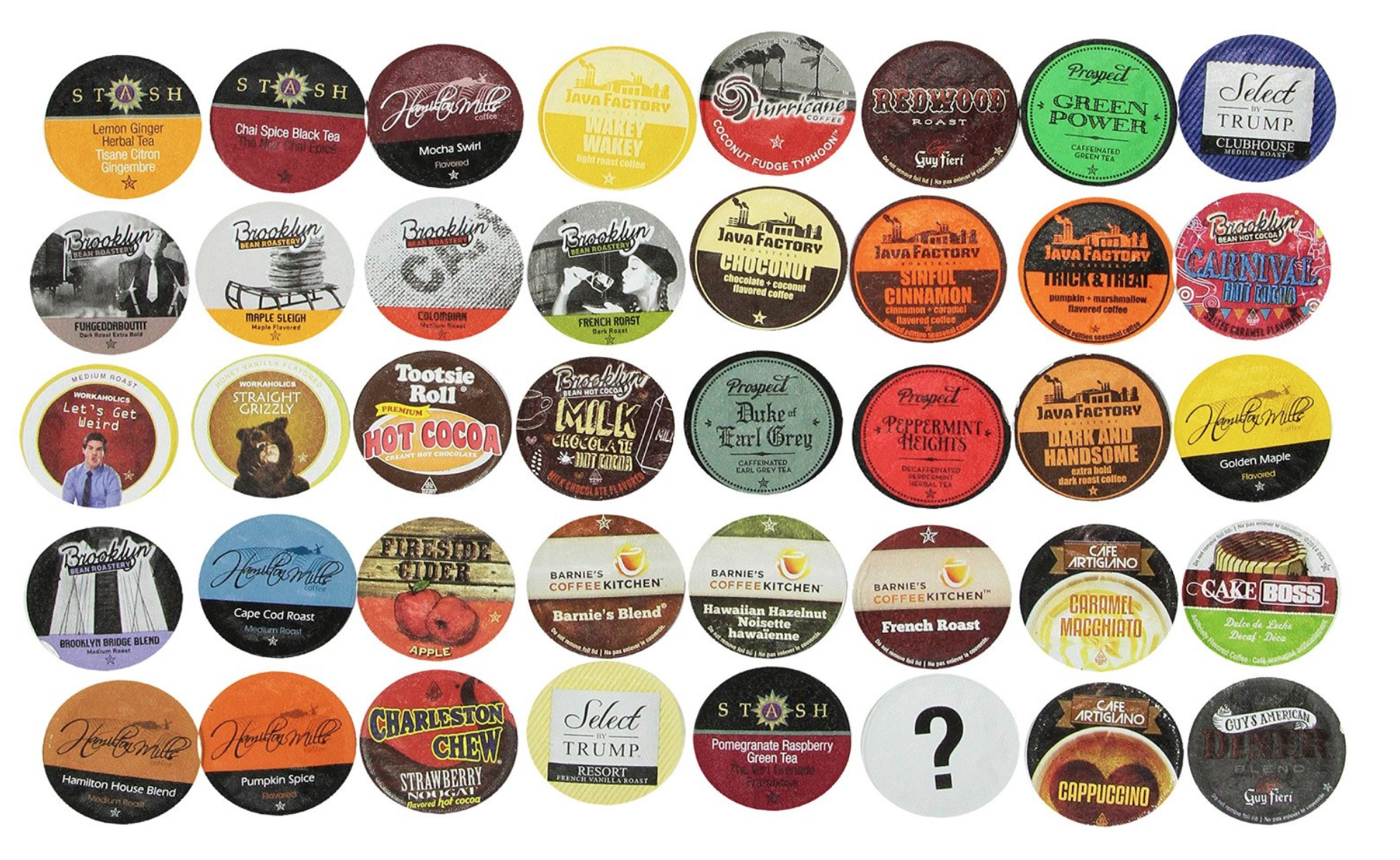 40 Ct. Two Rivers K-Cup Brewers Bit of Everything Sampler Pack Only $19.99 – Just 50¢ Per Cup!