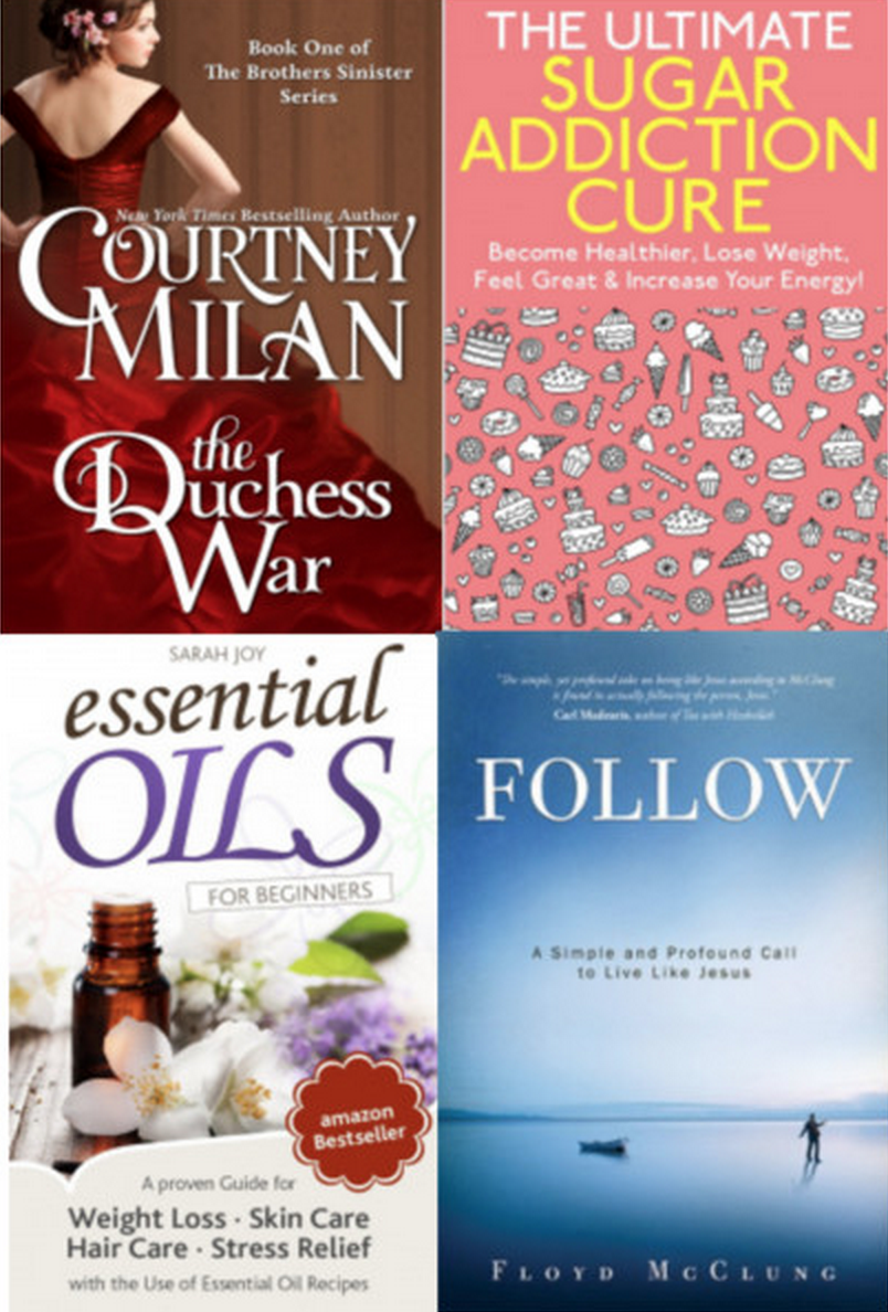 12 Free eBooks – The Ultimate Sugar Addiction Cure, Essential Oils Guide, And More!