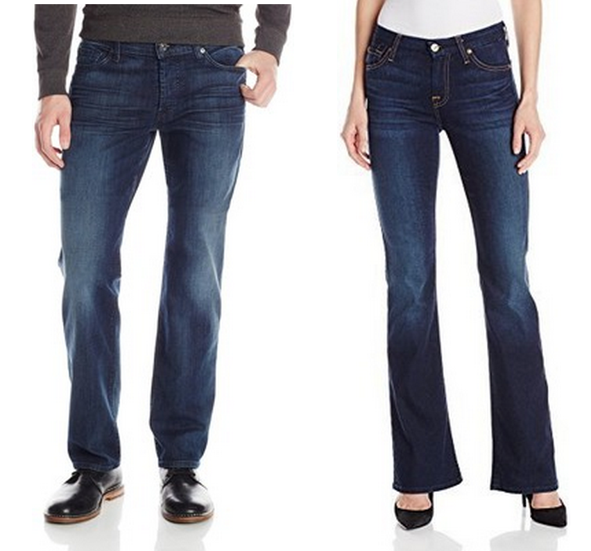TODAY ONLY! 50% Off 7 For All Mankind Jeans Starting at $78 + FREE Shipping
