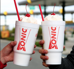 Score half-priced shakes at Sonic every day after 8!
