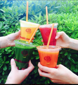 Score B1G1 FREE Smoothies and Juice at Jamba Juice today! Yum!