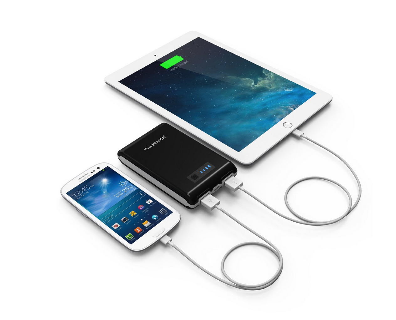 RAVPower® Element External Battery USB Portable Charger Only $16.99 (Reg. $39.99!)