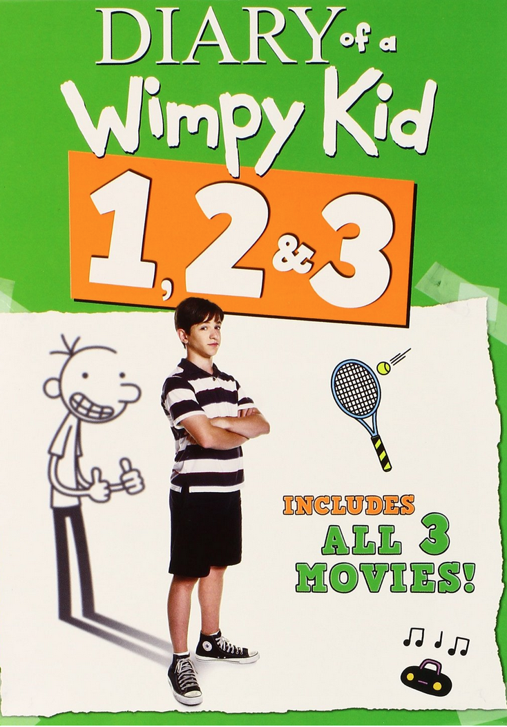 Diary of a Wimpy Kid 1, 2 & 3 on DVD Only $10 (Reg. $29.98!)