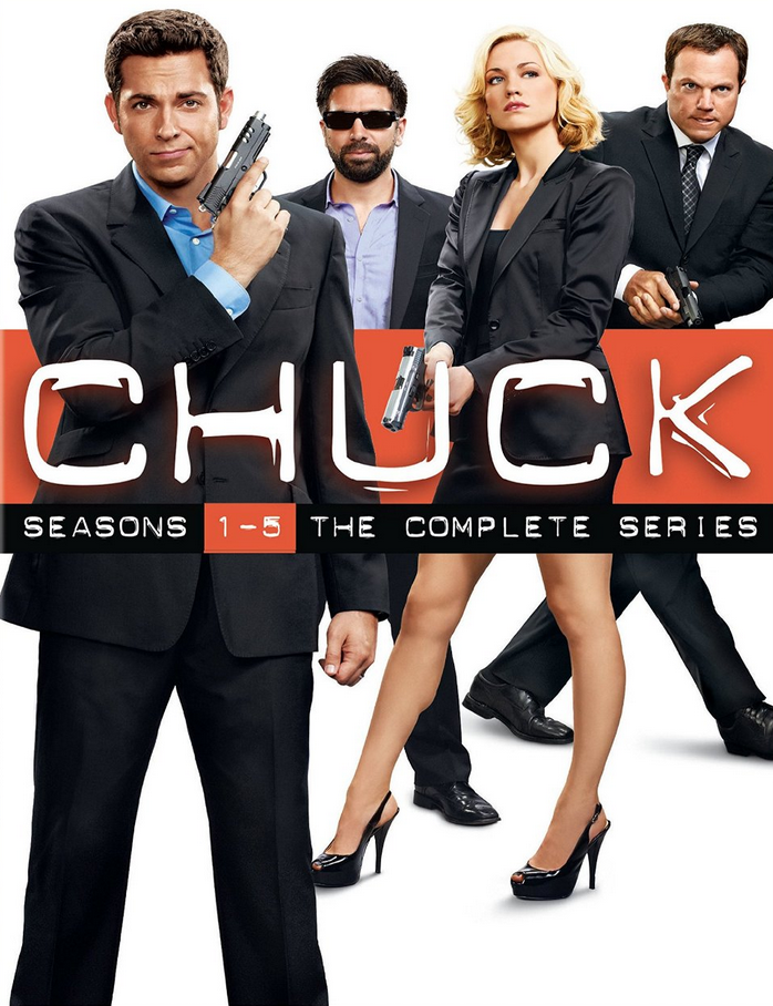 Up to 67% Off Chuck: The Complete Series and Fringe: The Complete Series