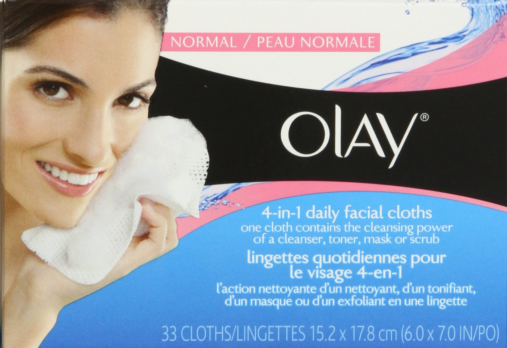 Olay 4-In-1 Daily Facial Cloths Normal Skin (33 Count) Only $2.39 (Reg. $6.99!)