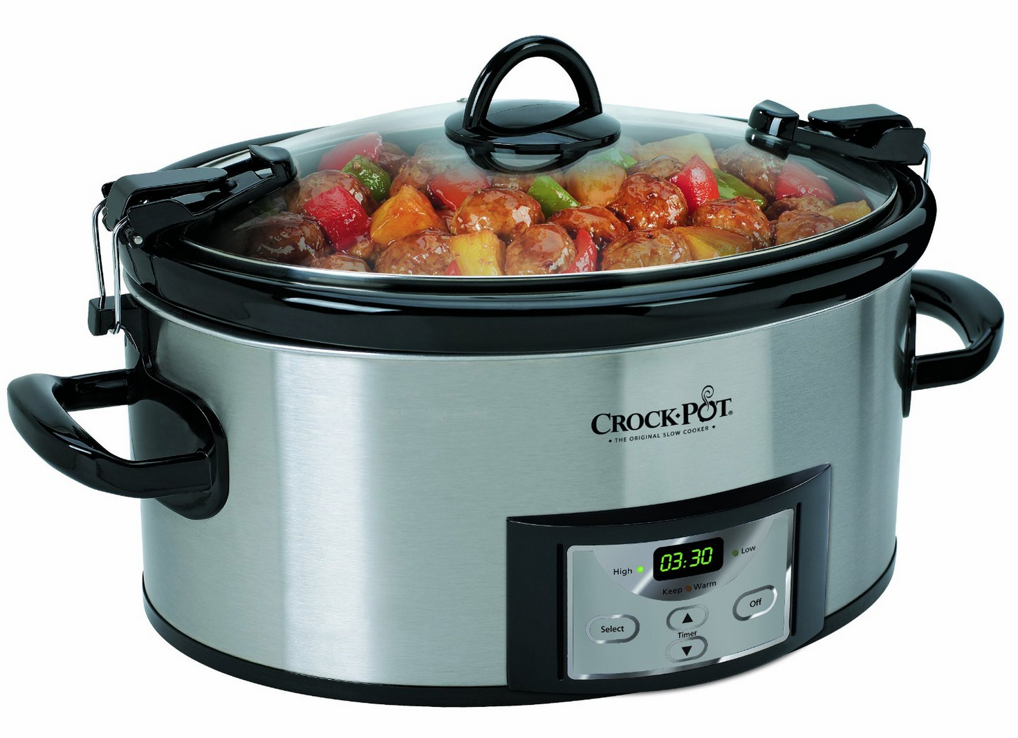 Crock-Pot Programmable Cook and Carry Oval Slow Cooker Only $35.69 (Reg. $59.99!) + FREE Shipping!