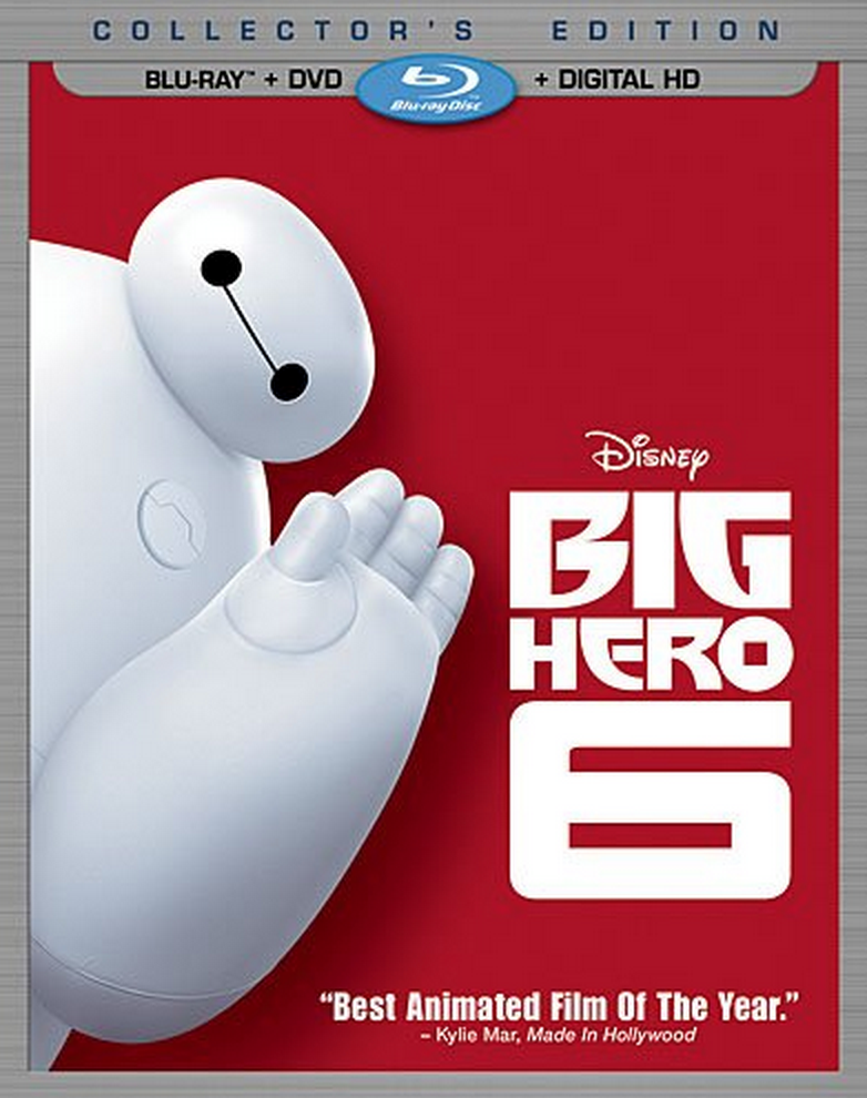 Big Hero 6 (Blu-ray + DVD + Digital HD) Only $18 (Reg. $39.99!) – Best Price!