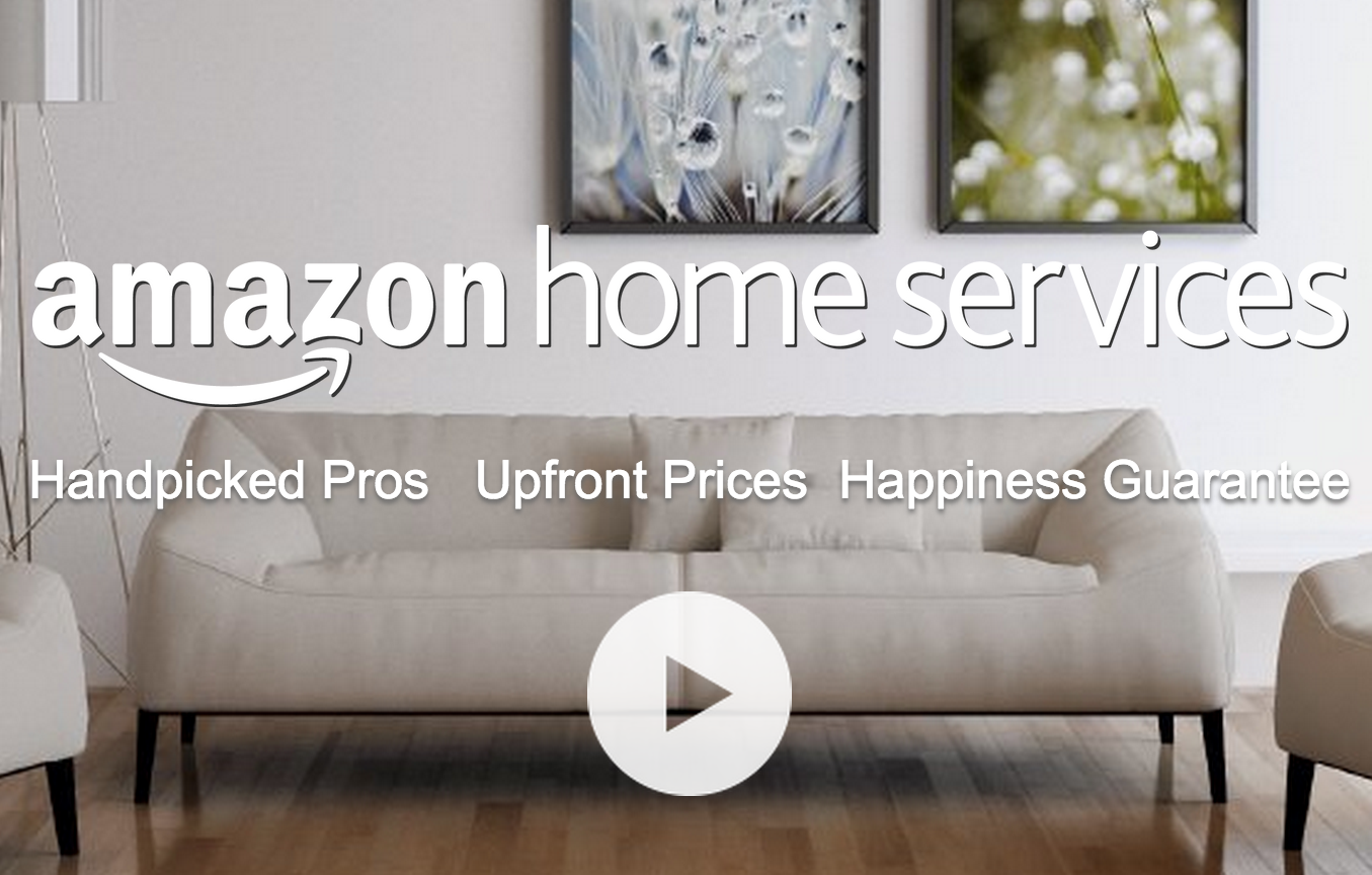 NEW! Amazon Home Services: Purchase $99+ Service and Get a FREE $20 Amazon Gift Card!