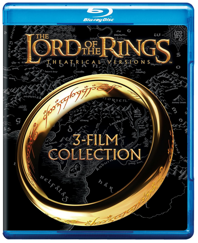 Lord of the Rings: Theatrical Trilogy on Blu-ray for Only $12.99 (Reg. $24.98!)