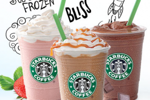 Snag 50% off frappuccinos at Starbucks today!