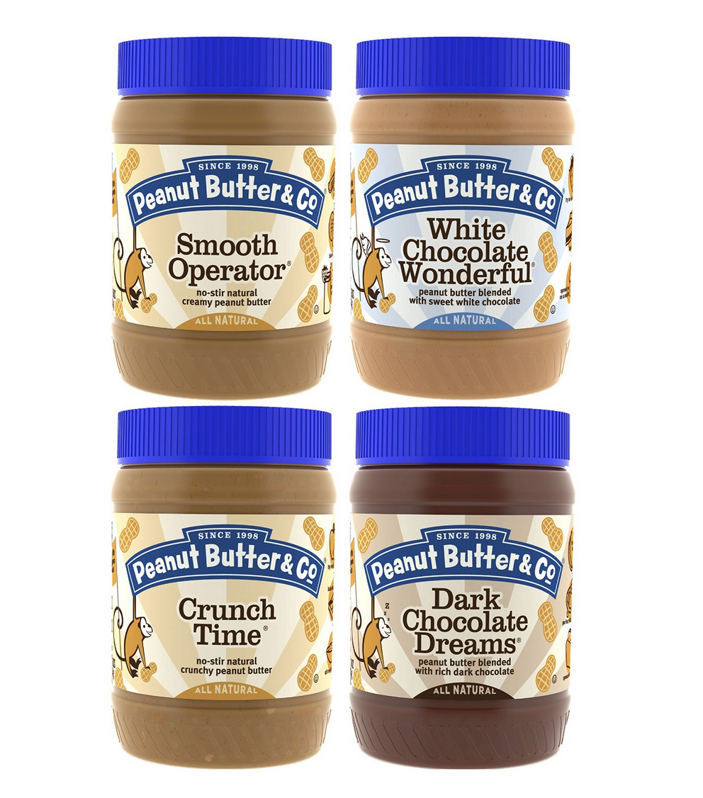 Peanut Butter & Co. Top Sellers 4-Pack is Only $12.50 Shipped! (Exclusive for Prime Members!)