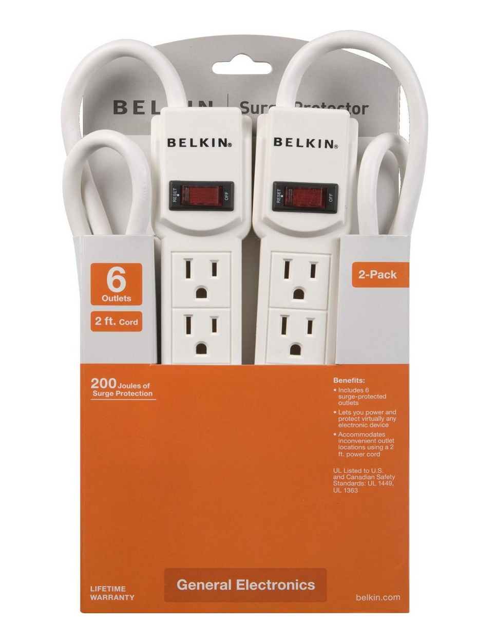 70% Off Best-Selling Belkin Surge Protectors – As Low As $8.99! (Today Only)