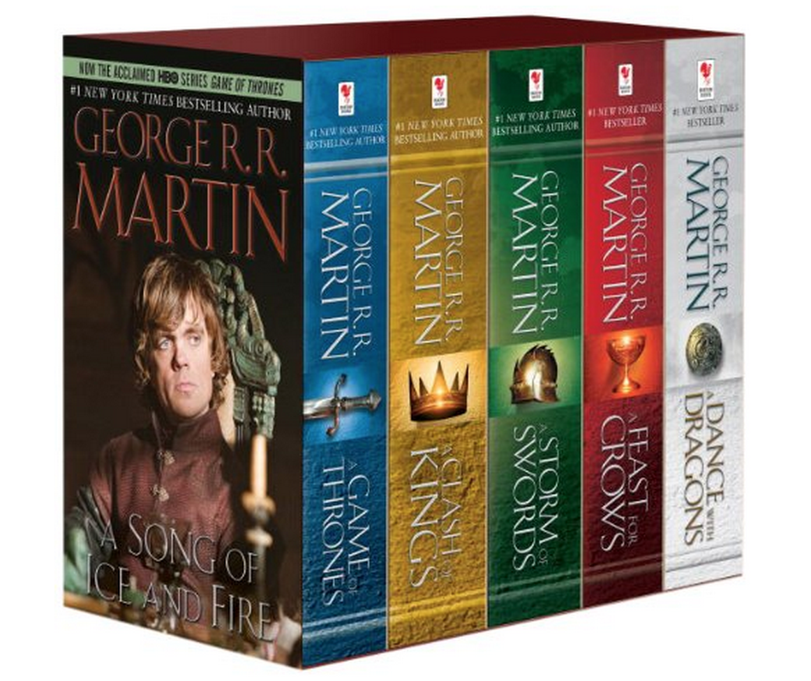 George R. R. Martin's A Game of Thrones 5-Book Boxed Set Just $23.44 (Reg. $49.95!)