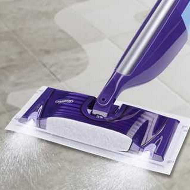 Swiffer WetJet Spray, Mop Floor Cleaner Starter Kit Only $9.97 (Reg. $22.26!)