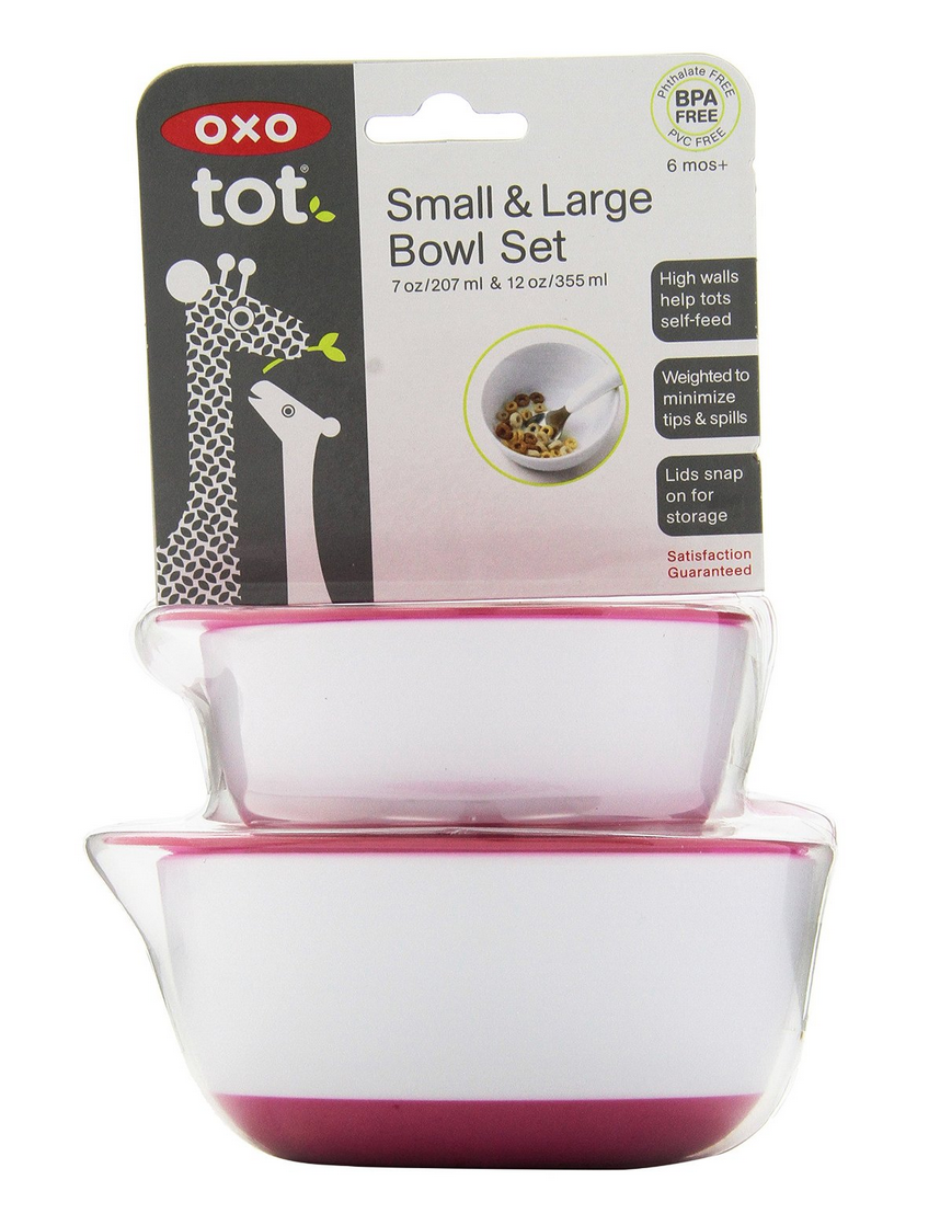 OXO Tot Small & Large Bowl Set with Snap On Lids Only $4.98 (Reg. $9.99!)