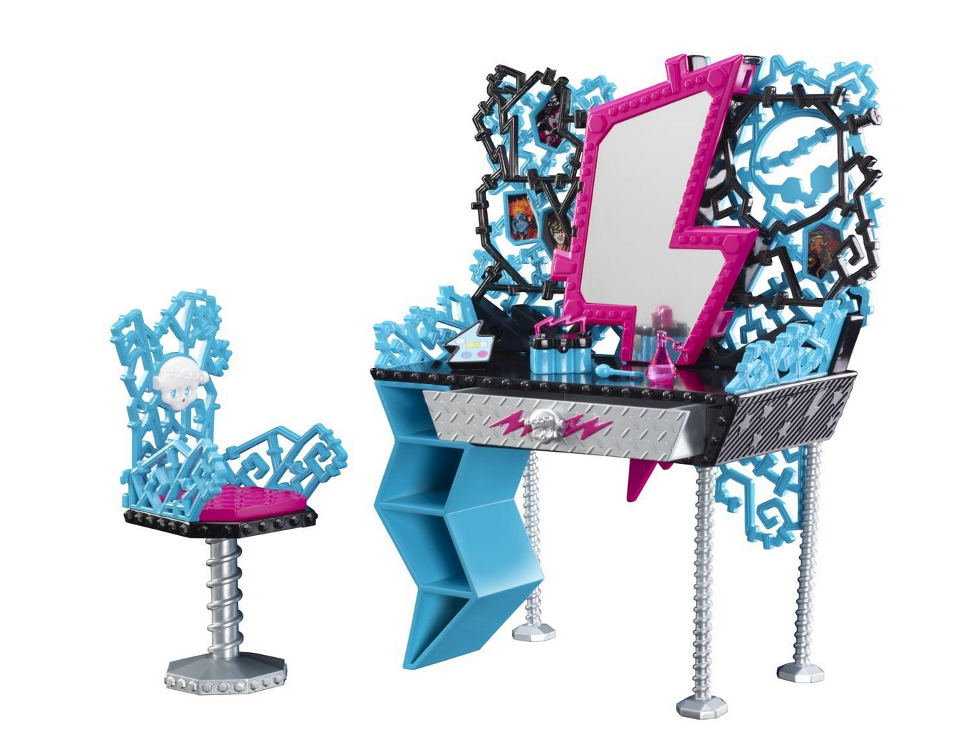 Highly Rated Monster High Frankie's Vanity Playset Only $10.35 (Reg. $21.99!)