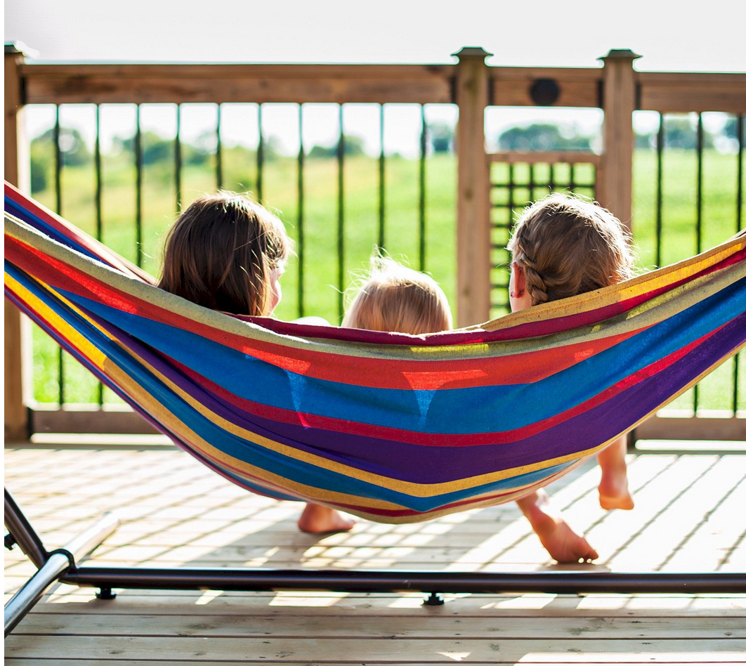 Vivere Double Hammocks w/Steel Stand $94.99 Shipped Today Only (Amazing Reviews!)