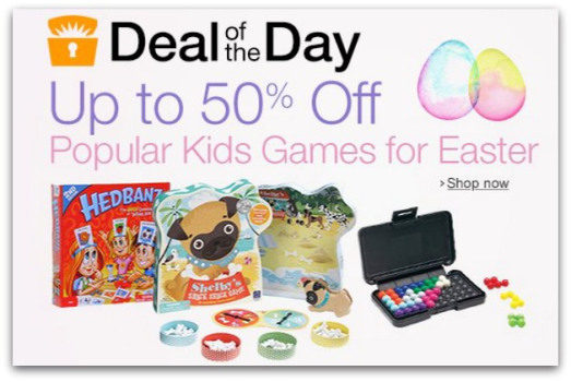 HOT! 50% Off Popular Kids Games (Melissa & Doug, Learning Resources, and More!)