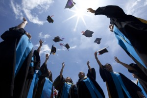 How much did college grads earn this year? Via Shutterstock.